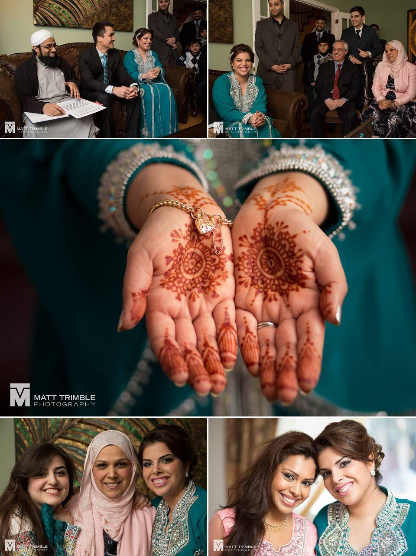 intimate home wedding ceremony