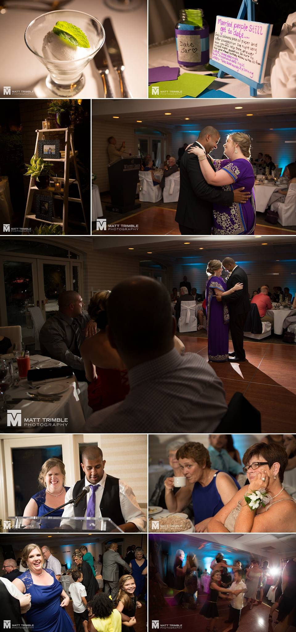 Reception photography in niagara on the lake