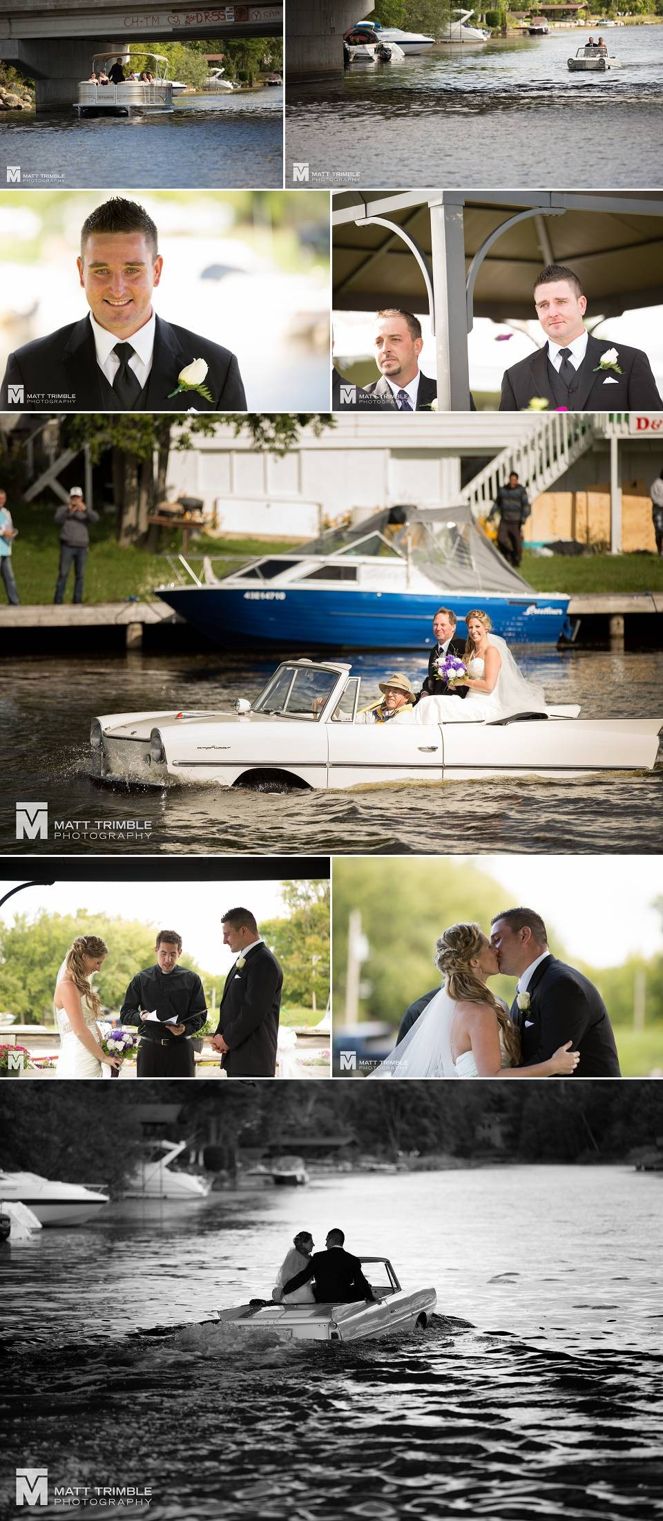Pefferlaw wedding ceremony