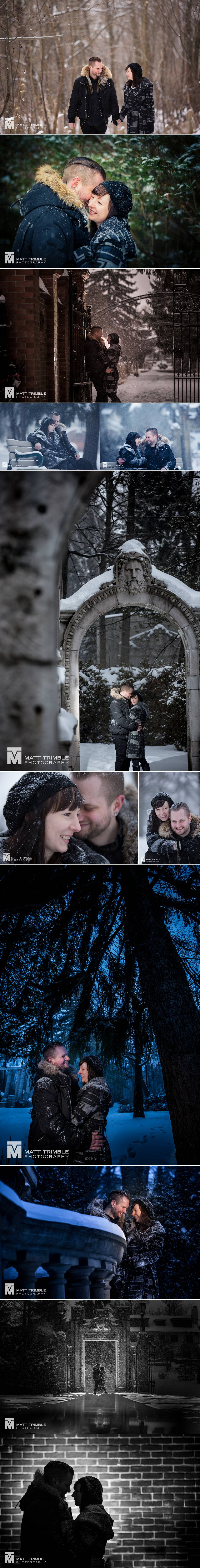 guild park toronto engagement photography
