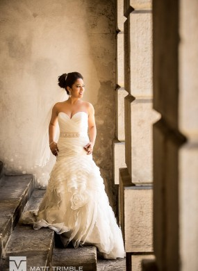 Osgoode Hall Bride Portrait