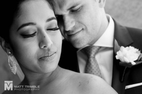 couple wedding portrait