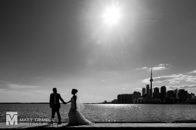 toronto skyline wedding photography