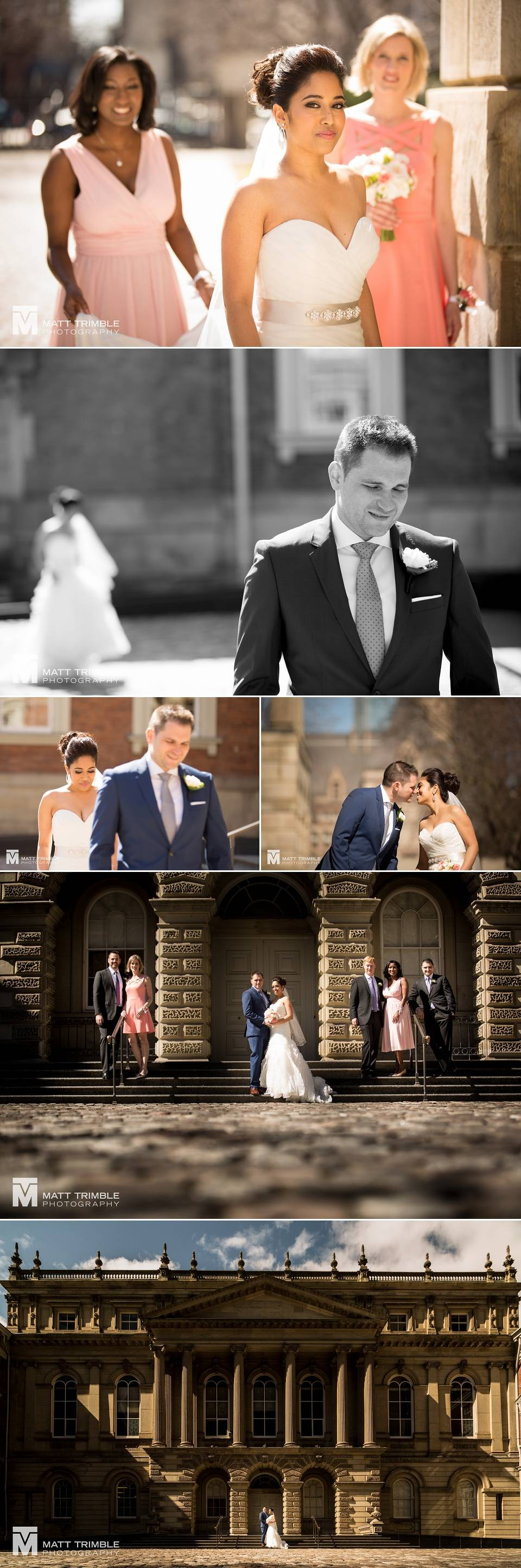 Wedding photography at Toronto Osgoode Hall