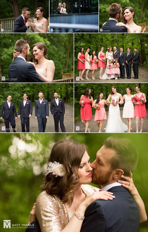 Kortright Centre wedding photography