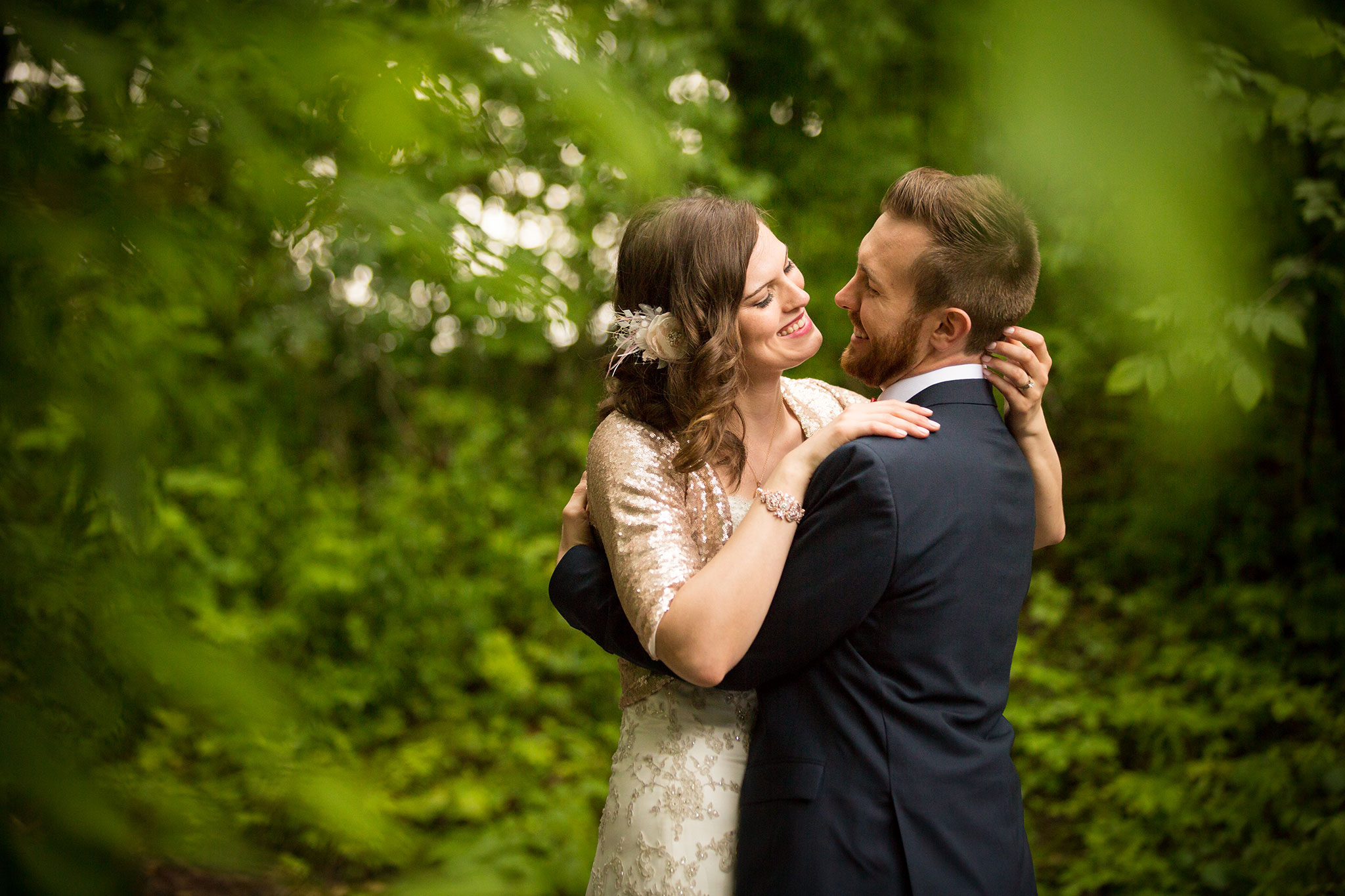 Wedding photography at the Kortright Centre