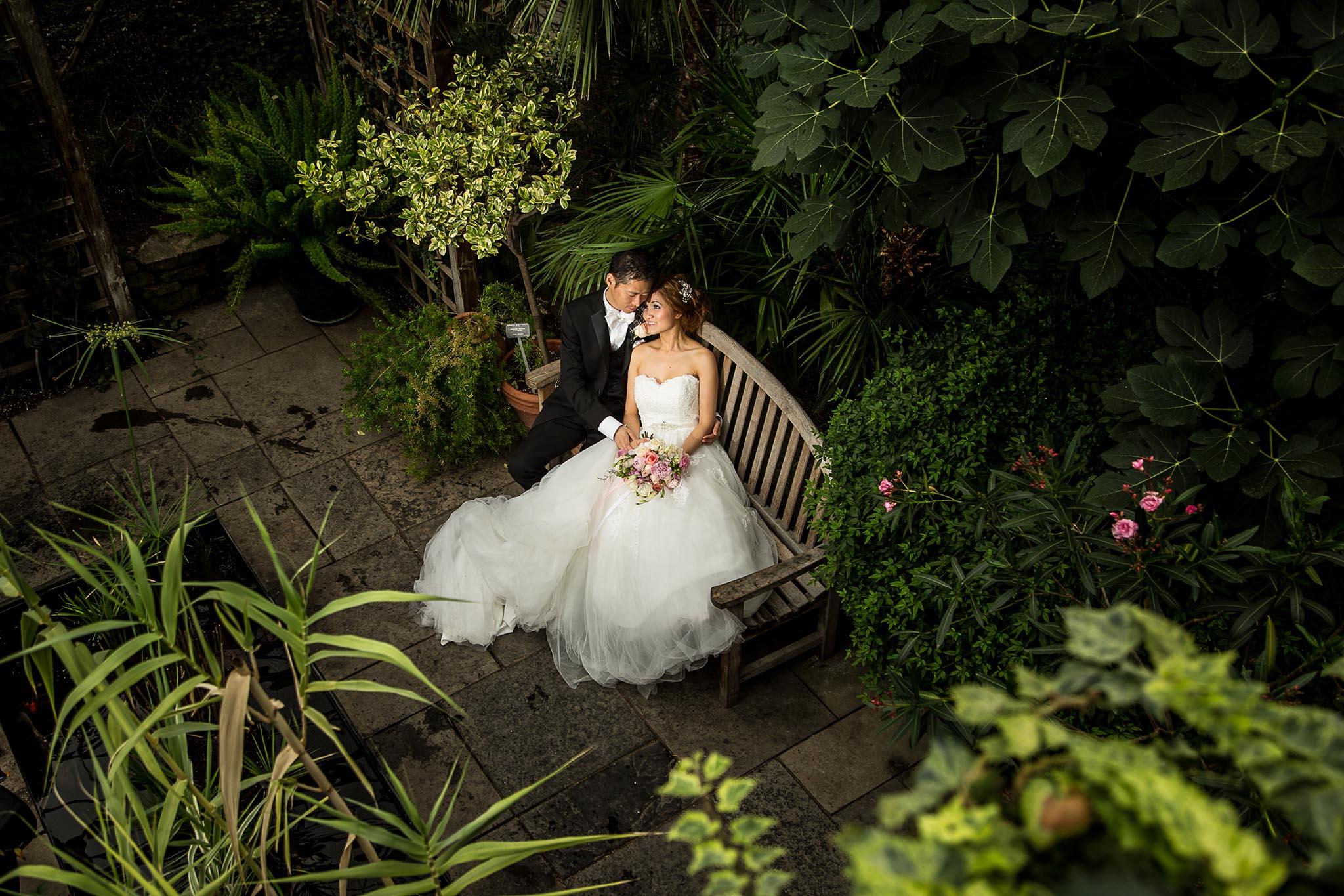royal botanical garden wedding photography