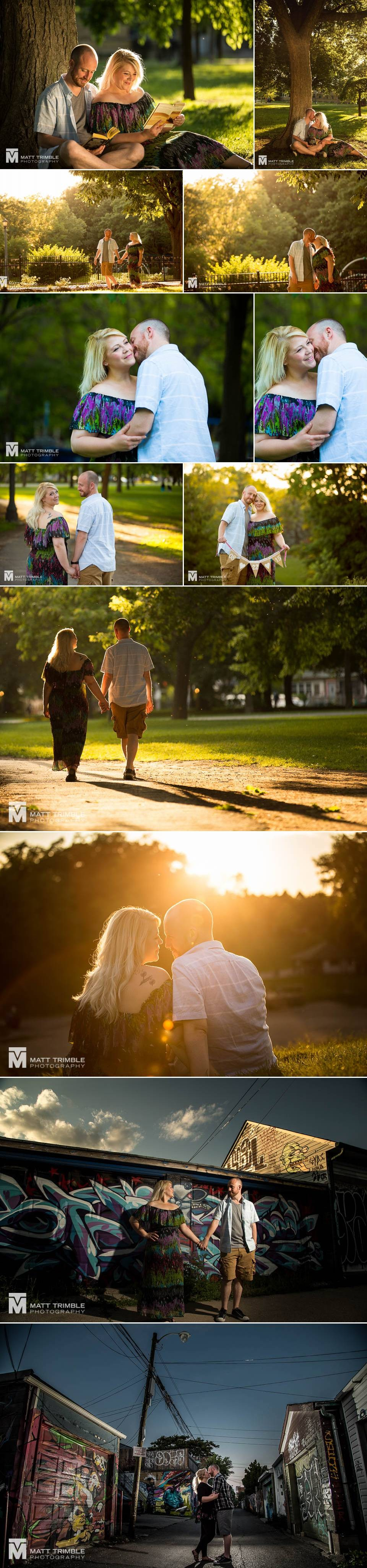 Trinity Bellwoods Park Engagement Photography