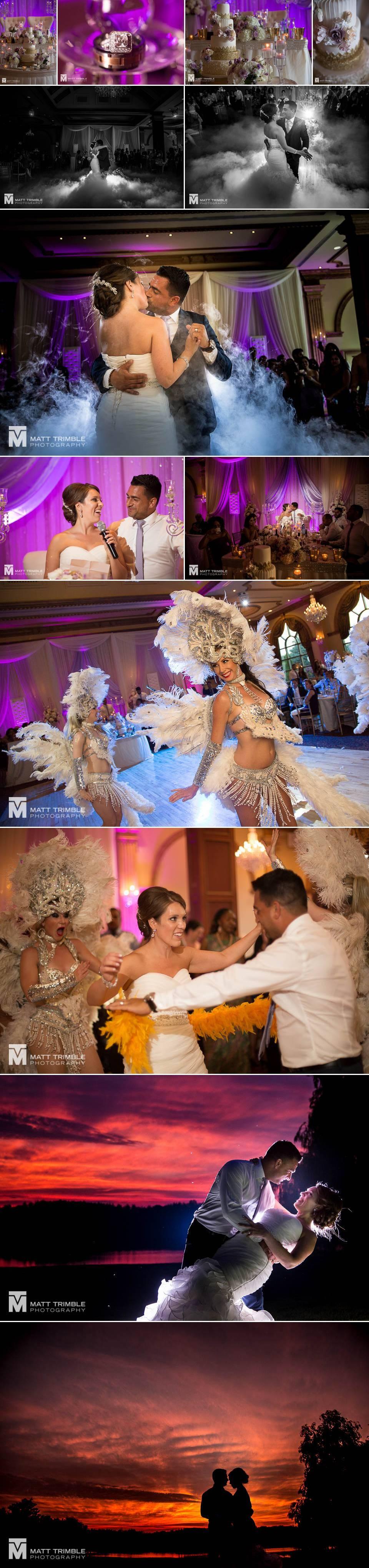 royal ambassador wedding reception photography