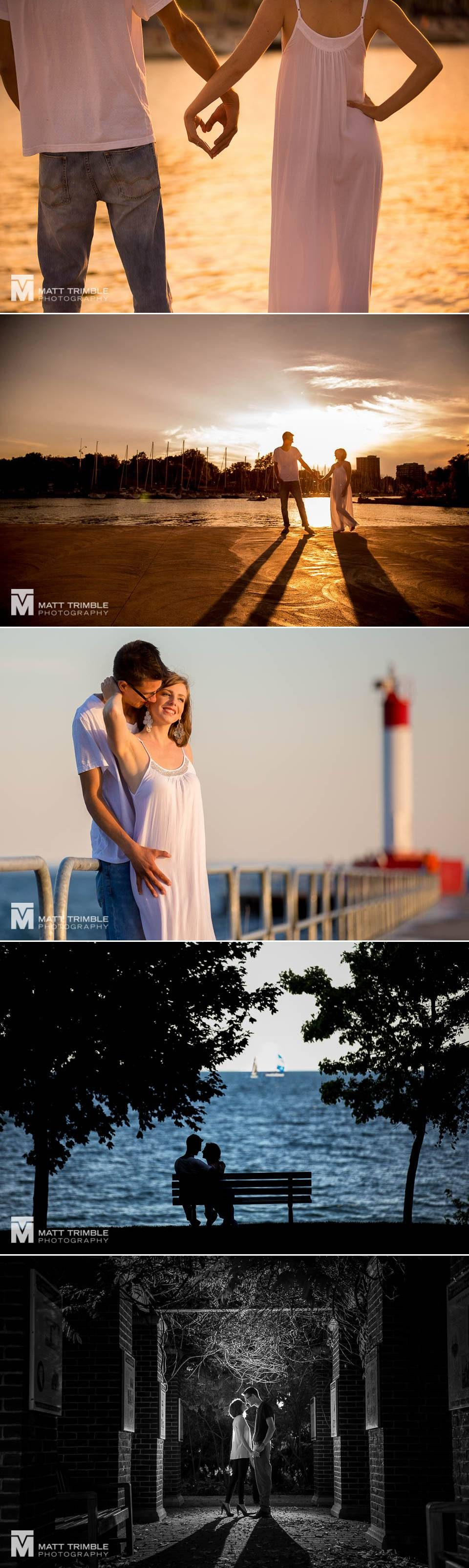 Engagement photography Oakville Watefront