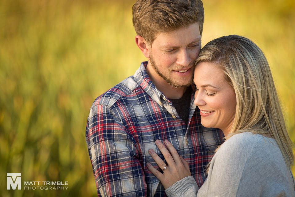engagement photos at grindstone marsh