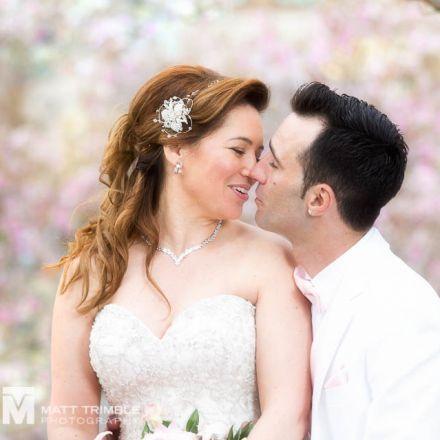 cherry trees wedding photography