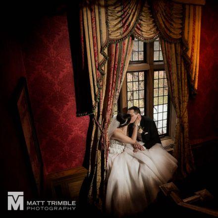 bride and groom window portrait bob rumball wedding
