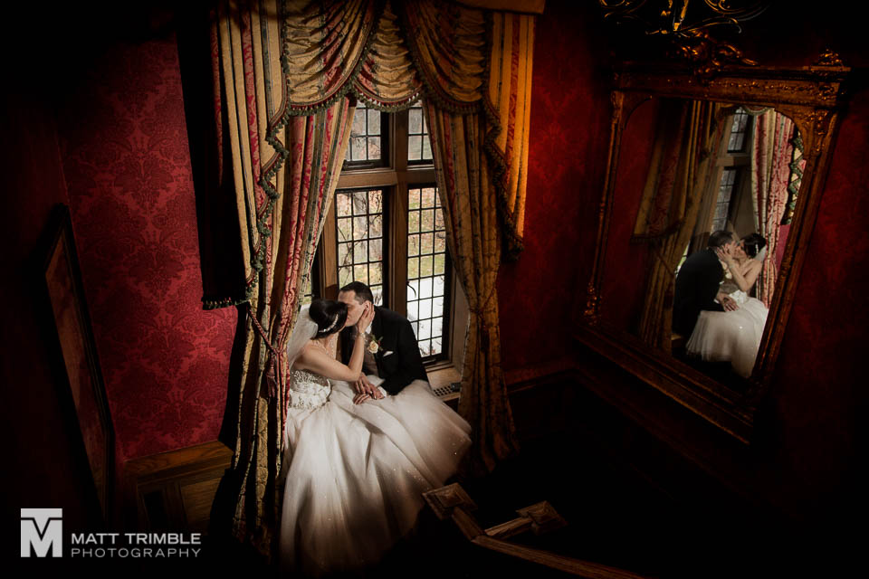 bride and groom window portrait bob rumball wedding