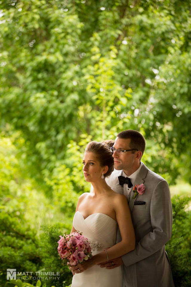 markland wood wedding photo