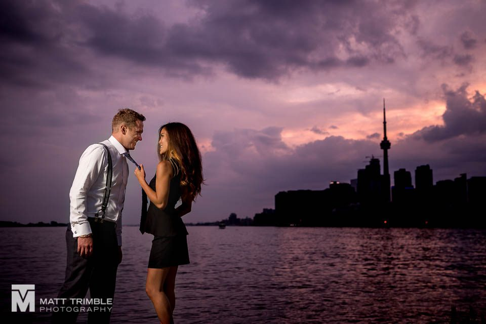 toronto portlands engagement photography
